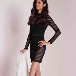 Missguided body on lace dress